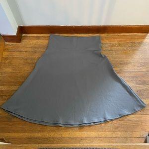 Grey LulaRoe Azure Skirt